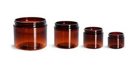 Amber-plastic-jars